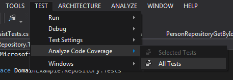 Get Code Coverage
