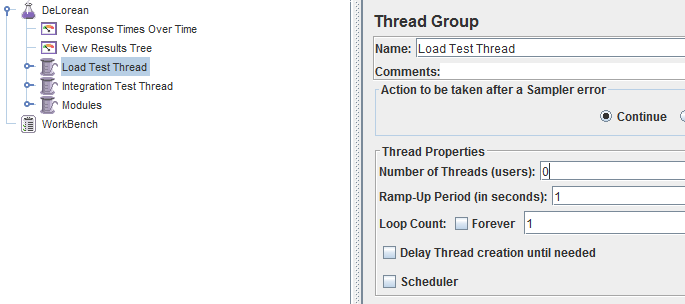 Load Test Threads