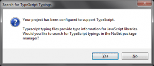 TypeScript Configured